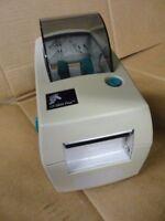 Zebra LP2824 Plus Thermal Barcode Label Printer RJ-45 & USB * Missing Cover