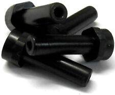 08028 Devant/Pare-choc Arrière Poste De Choc Noir Plastique x 4 Haute Vitesse