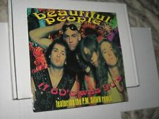 33rpmBEAUTIFUL PEOPLE(p.m.dawn remix)SEALED IN SHRINK-UNPLAYED nice SEE PICS