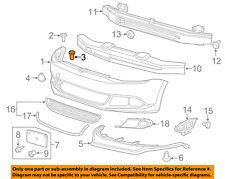 VW VOLKSWAGEN OEM 12-18 Beetle Quarter Panel-Fender Liner Nut WHT004694