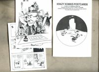 George Herriman Postcards Fantagraphics 1990 / set of 10 Post Cards Krazy Kat
