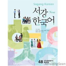 Sogang Korean 4B Student's Book With CD Korean Language Book Conversation BO56