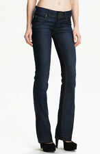 NWT HUDSON JEANS Sz24 SIGNATURE FLAP BOOTCUT-STRETCH IN BOLINA WASH $189.00