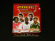 GREEK 2006 SUPERLEAGUE 50 PACK STICKERS SEALED