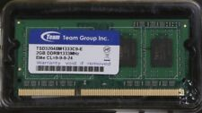 NEW Team Group Elite DDR3-1333 Computer Memory Module DDR3 SDRAM 2GB 204-PIN CL9