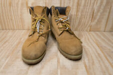 Timberland Men's Tan Leather Work Hunting Hiking Boots Size 7.5M