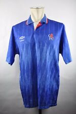 Chelsea London Trikot 1989-1990 Home Gr. M Umbro vintage 90er shirt Jersey