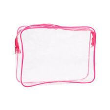 PVC Waterproof Clear Cosmetic Storage Bags Packing Case Travel Luggage Organizer