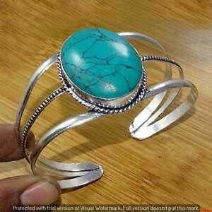 Turquoise Free Shipping Bracelets 925 Silver Plated Gemstone Bangles Jewelry