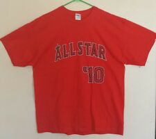 d509e354 New Los Angeles Angels XL T-Shirt 2010 All Star Game Mike Trout Red SGA
