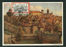 Deutschland MiNr 678 Fremdenverkehr Nürnberg Maximumkarte
