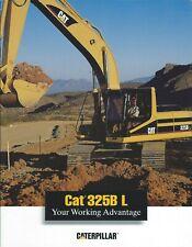 Equipment Brochure - Caterpillar - 325B L - Excavator - 1996 (E6220)