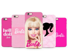 Barbie Doll pink case cover for iPhone Samsung Huawei