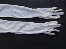 STRETCHIES LADIES CREAM 100% NYLON DRESS GLOVES UNLINED SIZE ONE SIZE