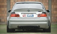 FULL CARBON REAR DIFFUSER SPOILER CSL STYLE FOR BMW E46 M3 ONLY