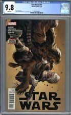 Star Wars #11 (2016)  Immonen Cover Luke Chewbacca 1st Print   CGC 9.8