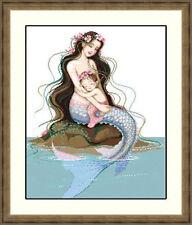 """NEW Cross Stitch Kits""""Mermaid"""""""