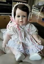 Artist Doll. Fat Baby Girl, Bisque with Stuffed Body