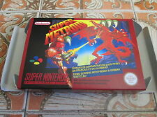 Super Metroid - PAL  - Super nintendo - Snes - Only Box