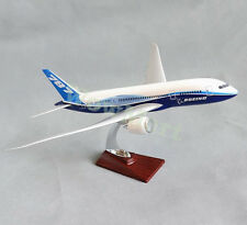 New 1:132 Fibreglass Resin Maiden Flight Boeing 787 Aircraft Plane Model 43cm