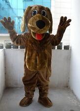 New Professional Wags Dog Mascot Costume Adult SIZE