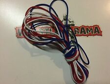 WWE Authentic Scale Ring Ropes Elite Red white blue wrestling figures mattel wct