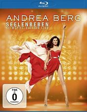 ANDREA BERG - SEELENBEBEN-HEIMSPIEL EDITION LIVE   BLU-RAY NEU