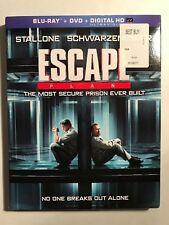 Escape Plan (Blu-ray/DVD, 2014, 2-Disc Set) W/Slipcover