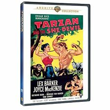 TARZAN & THE SHE-DEVIL - (B&W) (1953 Lex Barker) Region Free DVD - Sealed