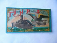 1940's The Army And Navy Needle Book Occupied Japan Diamond Sewing Needles