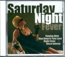 Saturday Night Fever (2001) CD NUOVO Staying Alive. Disco Inferno. Boogie shoes