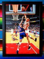 ✺Framed✺ SCOTTIE PIPPEN Chicago Bulls NBA Poster - 45cm x 32cm x 3cm