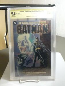 BATMAN: OFFICIAL MOVIE ADAPTATION CBCS 9.8 SS - Signed: JERRY 'ORDWAY' (DC 1989)