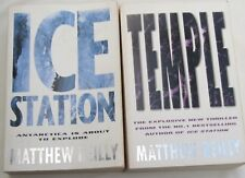 MATTHEW REILLY - 2 OF HIS BESTSELLERS IN 1st EDITIONS- TEMPLE & ICE STATION