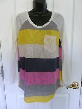 Flamingo Urban Tunic, Size M - L, Striped Multi-Color,  NWOT  C1