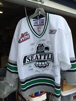Team Autographed Seattle Thunderbirds Jersey FREE SHIPPING!