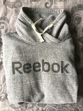 Reebok Ladies Grey Hoodie Size Small