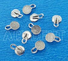 500 pcs Orthodontic caplin hooks 3mm Diameter traction Hook Round