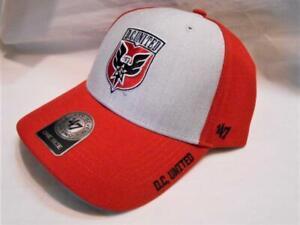 New Licensed MLS D.C. United Soccer Club '47 Brand Adjustable Hat _B134