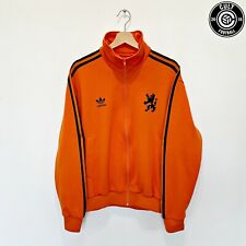 1974 HOLLAND Vintage adidas Originals Track Top Jacket Football (L) Cruyff