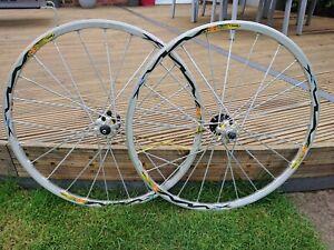 "Mavic Crossmax 26"" disc wheelset SL SSC UST 6 bolt 9 spd mtb xc like slr"