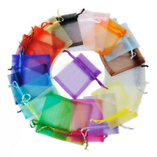 "30pcs 4""x6"" 10x15cm Organza Wedding Party Favor Gift Candy Bags Jewelry Pouches"