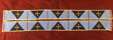 BEADED LEGGINGS STRIPES NORTHERN PLAINS STYLE  POWWOW OUTFIT