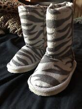 Toddler Girl Zebra Boots Size 5 (5c)