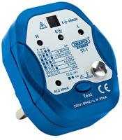 Draper 13A Electrician Plug Socket Tester/Detector/Testing Work Tool - 22278