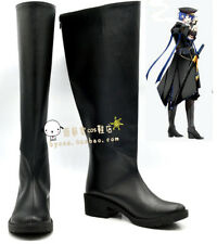 VOCALOID Gakupo black Cosplay Boots shoes shoe boot #NC413 Halloween Christmas