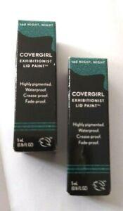 Covergirl Exhibitionist Eye Lid Paint Make-up 160Night, Night 5 ml Nib New (2)