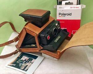 Exz***** Polaroid SX-70 Land Camera mit Gelenk-Tasche, aus Erstbesitz, getestet!