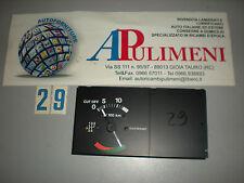 9939021 STRUMENTO VACUOMETRO ECONOMETRO CON TEMPERATURA ACQUA FIAT UNO 1°