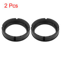 "2pcs Black 6.5"" Car Speaker Mounting Spacer Adaptor Rings for VW Magotan Skoda"